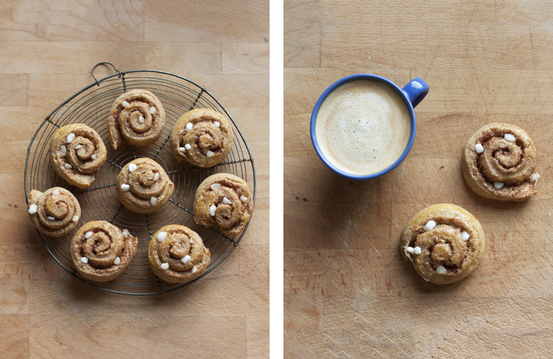 "rougeimaginaire: ""Recipe: Kanelbullar"""