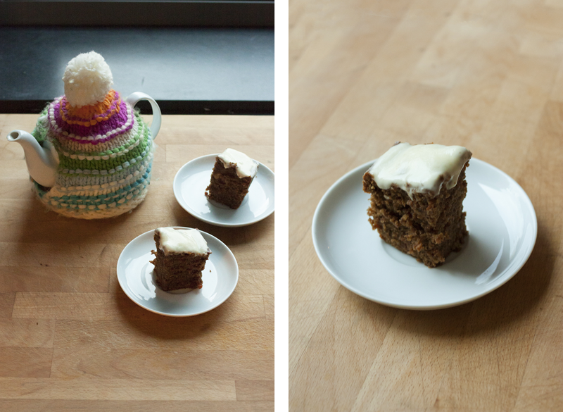 "rougeimaginaire: ""Recipe: Carrot cake"""