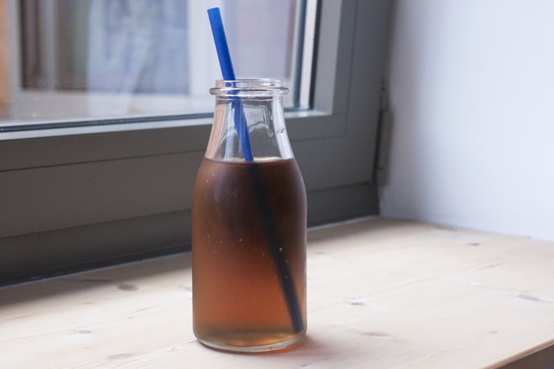 "rougeimaginaire: ""Cold-brewed iced tea"""