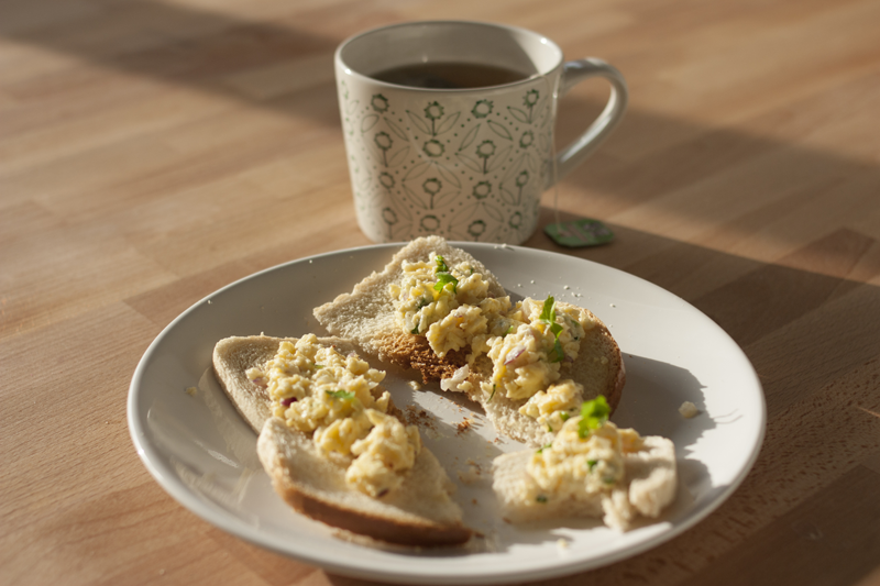"rougeimaginaire: ""Recipe: soft and tasty scrambled eggs"""