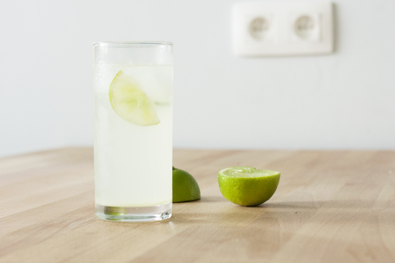 "rougeimaginaire: ""Lime & ginger"" - a recipe for lime and ginger water"