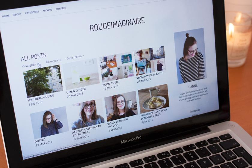 "rougeimaginaire: ""New layout!"""