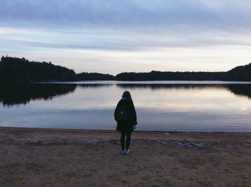 """I went to Sweden for the weekend"" 