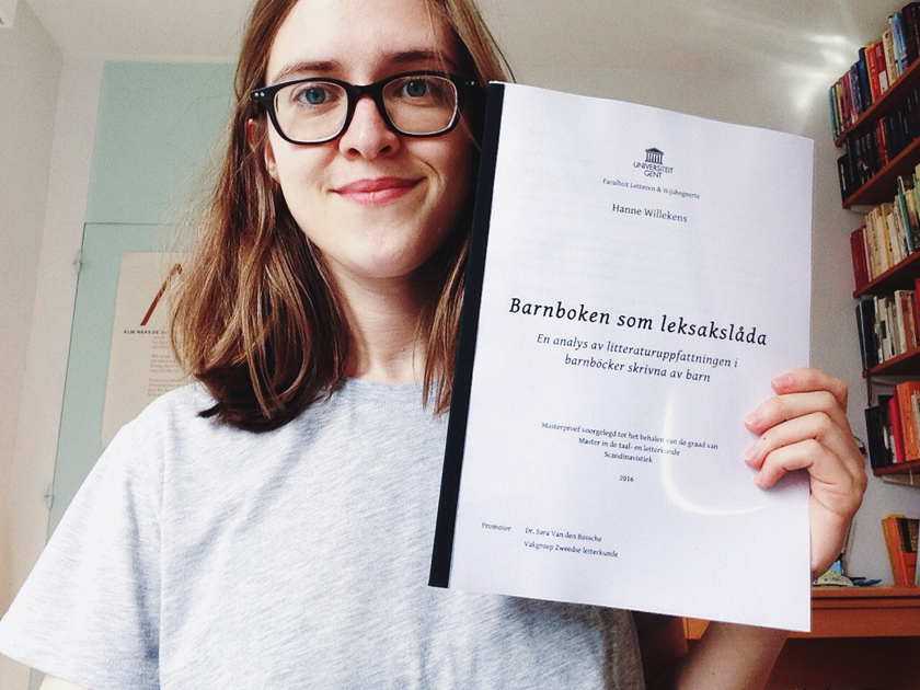 I finished my master's thesis! | rougeimaginaire