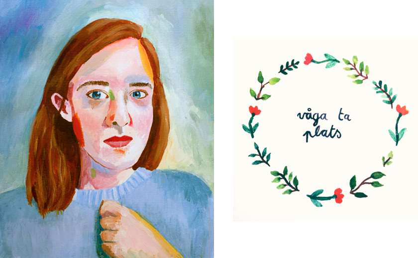 Things I painted lately | rougeimaginaire